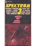 Spectrum 3 - A Third Science Fiction Anthology - AMIS, KINGSLEY - CONQUEST, ROBERT (ed.)