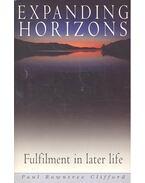 Expanding Horizons - CLIFFORD, PAUL ROWENTREE