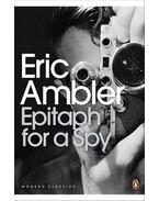 Epitaph for a Spy - Ambler, Eric