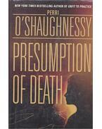 Presumption of Death - O'SAUGHNESSY, PERRI