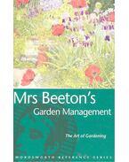 Mrs Beeton's Gardening Management - BEETON, ISABELLE