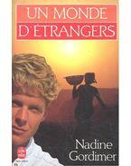 Un monde d'étrangers - Nadine Gordimer