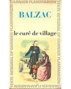 Le curé de village - Honore Balzac