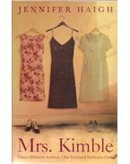 Mrs. Kimble - HAIGH, JENNIFER