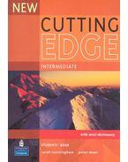 New Cutting Edge - Intermediate - Student's Book with mini dictionary - CUNNINGHAM, SARAH - MOOR, PETER
