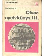 Olasz nyelvkönyv III. - Simon Gyula