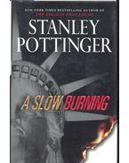 A Slow Burning - POTTINGER, STANLEY