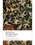 The Major Works - Milton, John