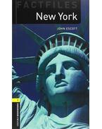 New York - Stage 1 - John Escott