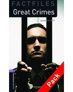 Great Crimes Audio CD Pack - Stage 4 - John Escott
