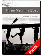 Three Men in a Boat Audio CD Pack - Stage 4 - JEROME, JEROME K. - MOWAT, DIANE