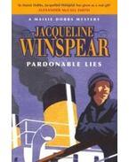 Pardonable Lies - WINSPEAR, JACQUELINE