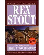 Three at Wolfe's Door - Stout, Rex