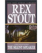 The Silent Speaker - Stout, Rex
