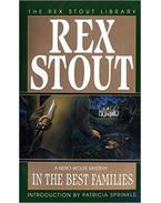 In the Best Families - Stout, Rex