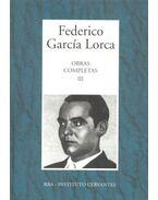 Obras Completas #3 - Federico Garcia Lorca