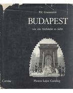 Budapest - wie ein Architekt es sieht (dedikált) - Granasztói Pál