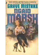 Grave Mistake - Marsh, Ngaio