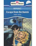 Escape from the Harem - Lyons, Mary