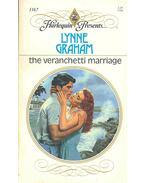 The Veranchetti Marriage - Graham, Lynne