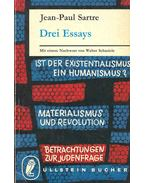 Drei Essays - Sartre, Jean-Paul