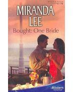 Bought : One Bride - Lee, Miranda