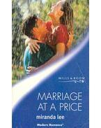 Marriage at a Price - Lee, Miranda