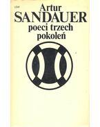 Poeci trzech pokoleń - SANDAUER, ARTUR