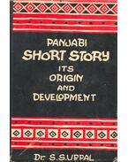 Panjabi Short Stories Its Origin and Development - SUPPAL, S.S. (editor)