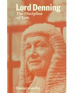 The Discipline of Law - Lord DENNING