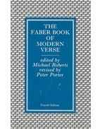 The Faber Book of Modern Verse - ROBERTS, MICHAEL (editor)