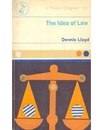 The Idea of Law - LLOYD, DENNIS