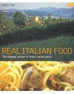 Real Italian Food - LAY, PAUL