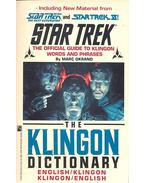 Star Trek – The Official Guide to Klingon Words and Phrases - OKRAND, MARK