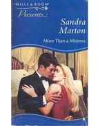 More than a Mistress - Marton, Sandra