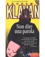 Non dire una parola - Andrew Klavan