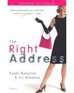 The Right Adress - KARASYOV, CARRIE – KARGMAN, JILL
