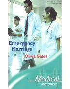 Emergency Marriage - GATES, OLIVIA