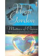 Matters of Choice - Noah Gordon