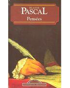 Pensées - Pascal, Blaise