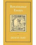 Renaissance Essays - HAY, DENYS