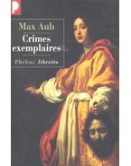 Crimes exemplaires - AUB, MAX