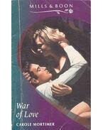 War of Love - Mortimer, Carole