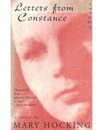 Letters from Constance - HOCKING, MARY