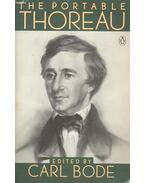 The Portable Thoreau - BODE, CARL (editor)
