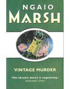 Vintage Murder - Marsh, Ngaio