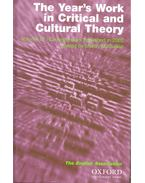 The Year's Work in Critical and Cultural Theory (2002) - McQUILLAN, MARTIN