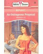An Outrageous Proposal - Lee, Miranda