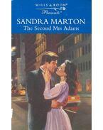 The Second Mrs Adams - Marton, Sandra