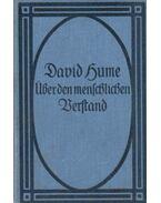 Eine Untersuchung über den menschlichen Verstand - Hume, David